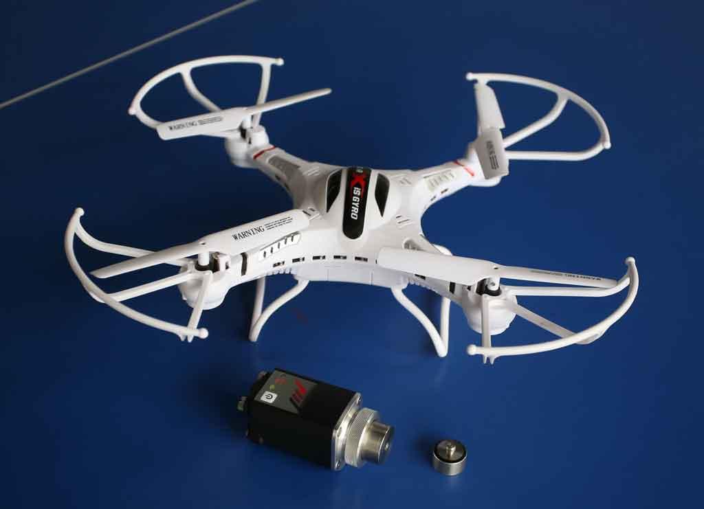 解决超小型无人机飞行过程中的振动难题